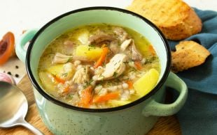 Tane Tane Şifa Dolu: Bulgurlu Tavuk Çorbası