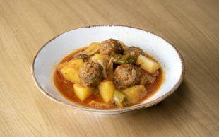 Akşam Yemeğine: Fırın Poşetinde Patatesli Köfte