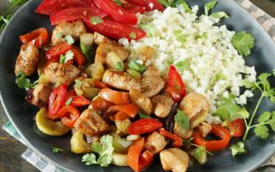 Hem Sağlıklı Hem Lezzetli: Doyuran Tavuk Kasesi