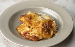 Kat Kat Lezzet: Fırında Beşamelli Kıymalı Patates
