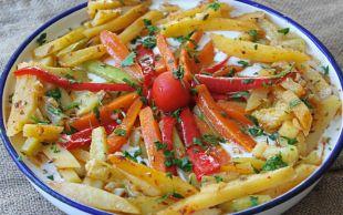 Yeme de Yanında Yat: Fırında Sebze Kebabı