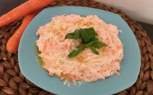 Evimizin Mutfağından: Havuçlu Elmalı Kereviz Salatası