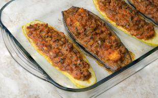 Karnıyarık Kıskandı: Kıymalı Patlıcan ve Kabak Sandal
