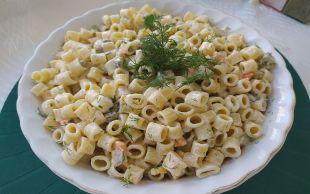 Evimizin Mutfağından: Pratik Makarna Salatası