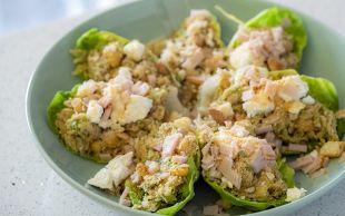 Hafif ve Doyurucu: Nohutlu Kabaklı Marul Taco