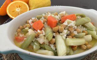 Evimizin Mutfağından: Pirinçli Nohutlu Pırasa Yemeği
