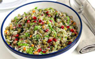Evimizin Mutfağından: Bulgurlu Yeşil Mercimek Salatası