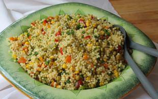 Her Sofraya Yakışır: Garnitürlü Kuskus Salatası