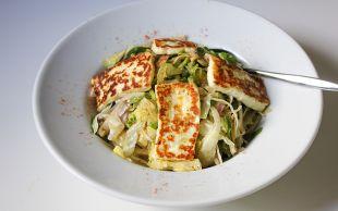 Taze Bir Dokunuş: Hellimli Salata