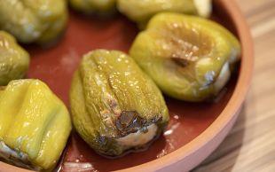 Evimizin Mutfağından: Peynirli Biber Dolması