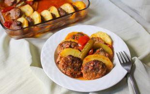 Bir Lezzet Klasiği: Patatesli Köfte Dizmesi