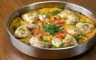 Geniş Sofralara: Havuçlu Tavuk Kapama