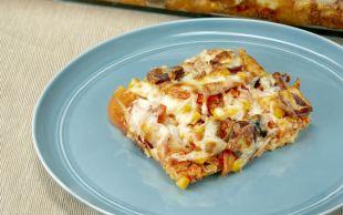 Hem Doyurucu Hem Pratik: Bayat Ekmek Pizzası