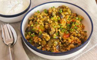 Hafif ve Doyurucu: Bulgurlu Patlıcan Yemeği