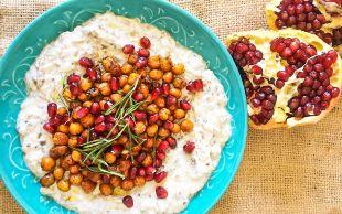 Yedikçe Yediren Lezzet: Çıtır Nohutlu Köz Patlıcan Salatası