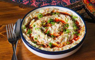 Ferahlık Arayanlara: Yoğurtlu Erişte Salatası