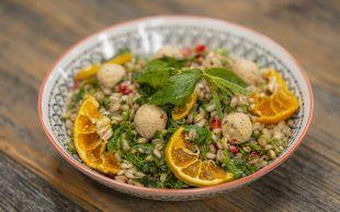 Bol Aromalı: Nar Ekşili Buğday Salatası