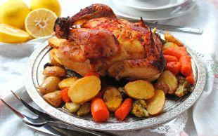 Assolist Geldi: Fırın Poşetinde Bütün Tavuk