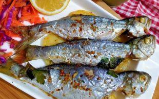 Balık Sofralarına: Fırında Çinekop