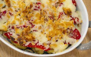 Doyurucu Özelliğiyle: Patates ve Enginarlı Sebze Graten