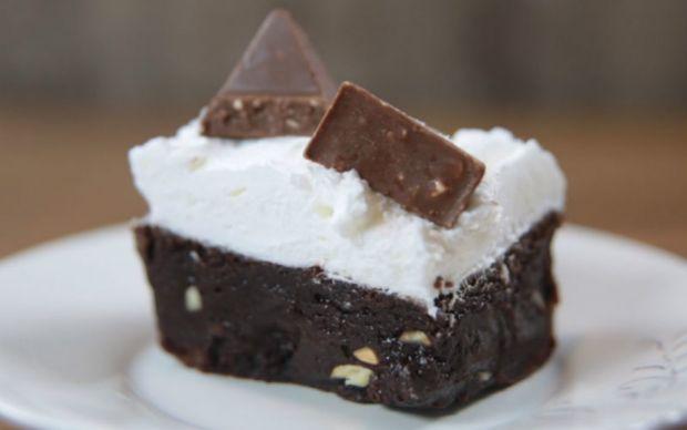 Bademli Toblerone Brownie Tarifi
