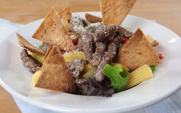 Bonfileli Kıtır Salata Tarifi
