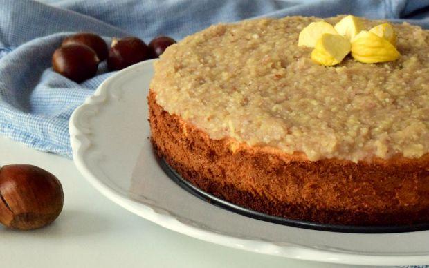 https://yemek.com/tarif/kestaneli-cheesecake/ | Kestaneli Cheseecake Tarifi