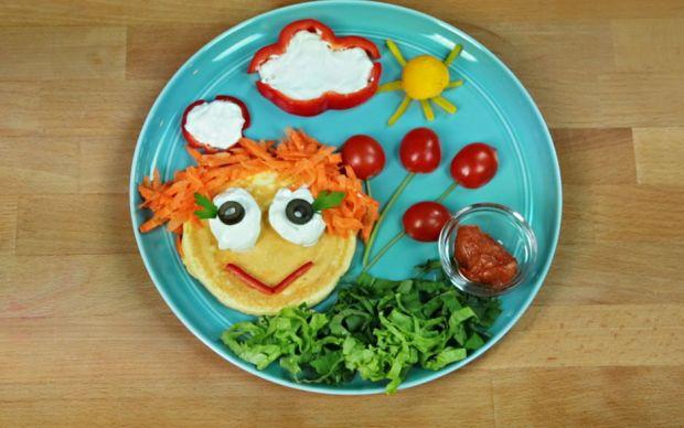 Pofuduk Pancakeli Kahvaltı Tabağı Tarifi