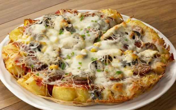 Kumpir Pizza Tarifi