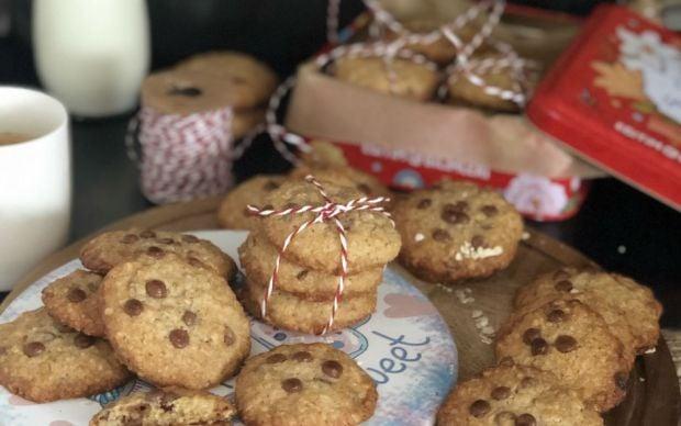 damla-cikolatali-yulaf-ezmeli-kurabiye-tarifi
