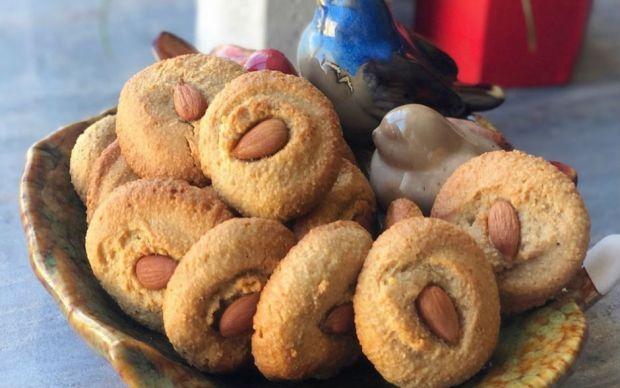 sekersiz-acibadem-kurabiyesi
