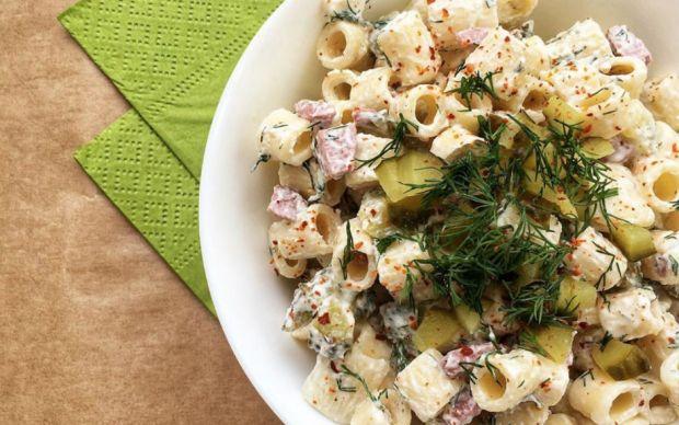 sosisli-makarna-salatasi-tarifi