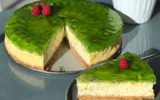 https://yemek.com/tarif/kivili-cheesecake-2/ | Kivili Cheesecake Tarifi
