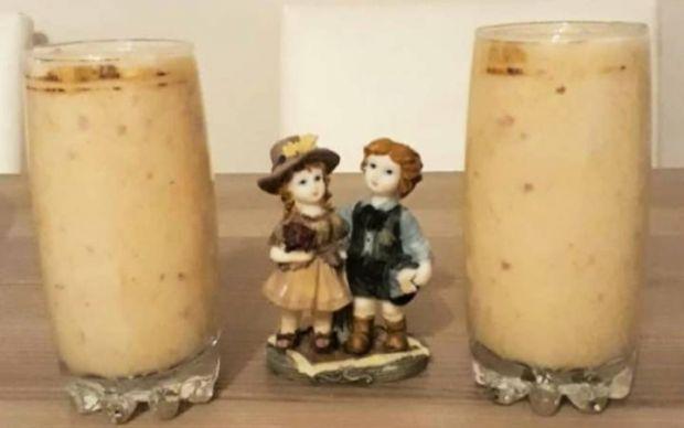muzlu-ve-seftalili-milkshake-tariif