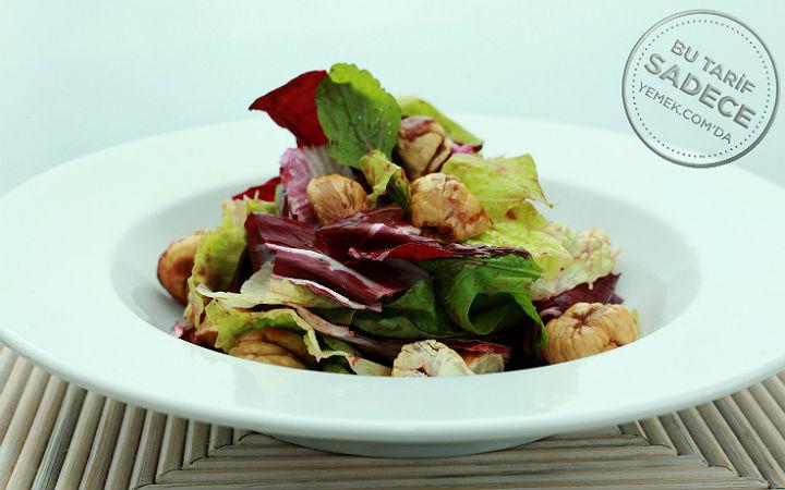 Kestaneli Karışık Salata
