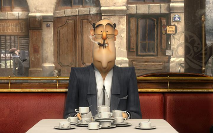 animatie - french roast kısa film