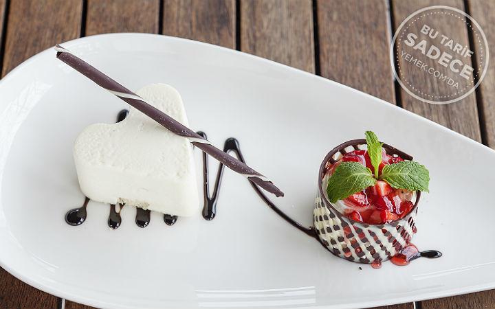 Beyaz Çikolatalı Mus