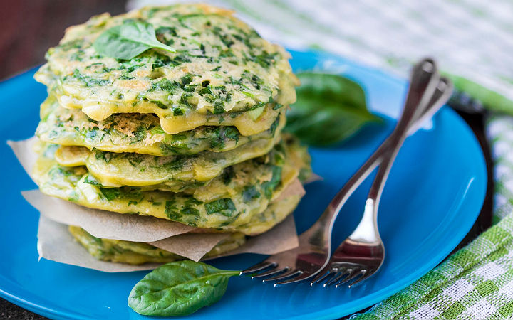 Ispanaklı Pancake Tarifi