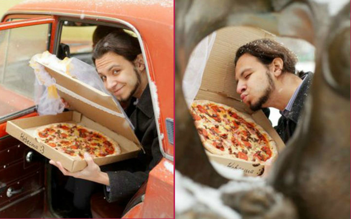 pizzayla-evlenen-adam