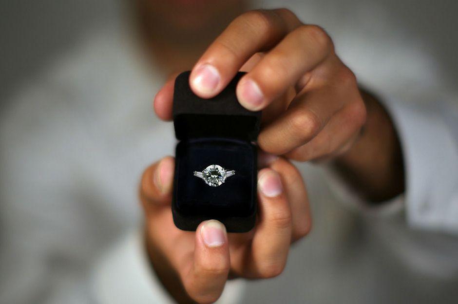 evlilik teklifi - yüzük