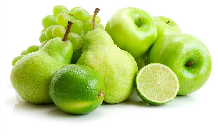 Meyve Diyeti Yeşil Meyveler
