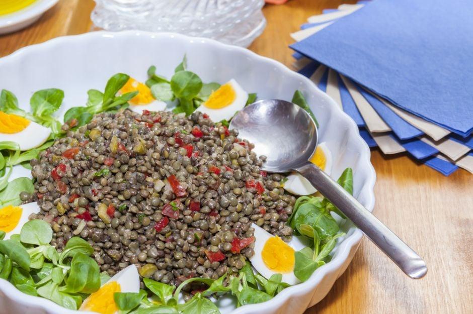 https://yemek.com/tarif/yesil-mercimek-salatasi | Yeşil Mercimek Salatası Tarifi