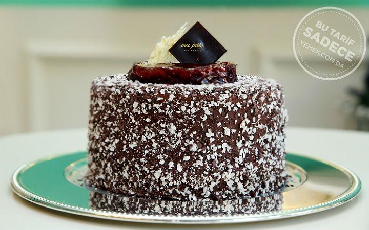 Ma Jolie Vişneli Çikolatalı Pasta Tarifi