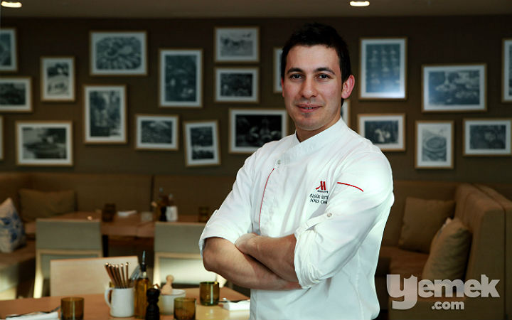 Fotoğraf: Müjde Çapraz / The Dish Room Restaurant Sous Şefi Özgür Üstün