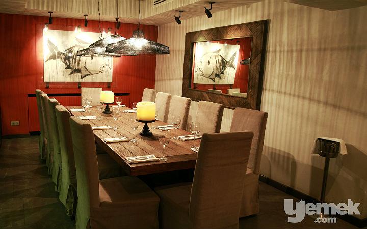 Grissini Restaurant İç Mekan