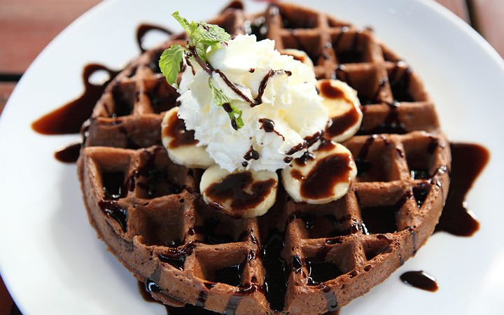 Çikolatalı Waffle Tarifi