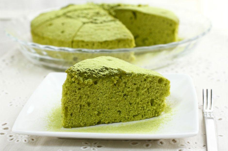 https://yemek.com/tarif/matcha-cayli-kek/ | Matcha Çaylı Kek (Matcha Cake) Tarifi