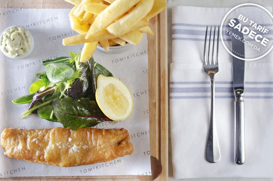 https://yemek.com/tarif/toms-kitchen-fish-and-chips/ | Fish and Chips Tarifi