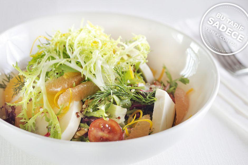 https://yemek.com/tarif/lacivert-restaurant kinoa-salatasi/ | Lacivert Kinoa Salatası Tarifi