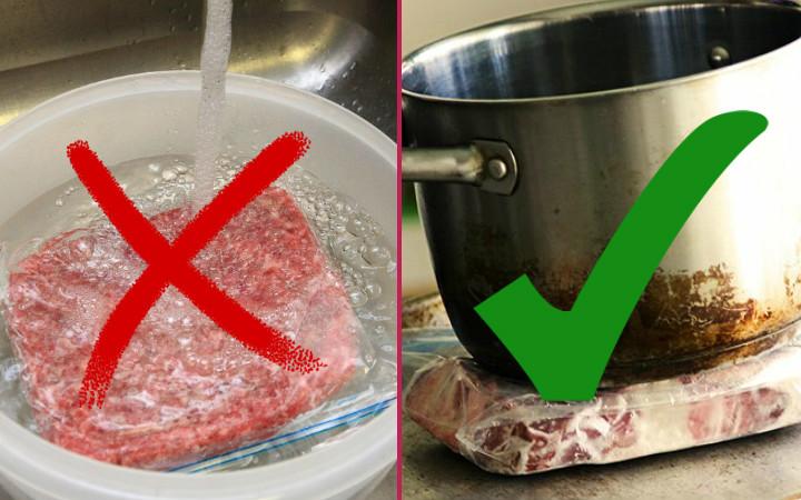 Donmuş Et Nasıl Çözülür Hem Hızlı Hem Sağlıklı Yöntem